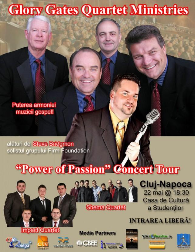GGQ Romania 2013 Concert Tour-Flier-Cluj-Romanian