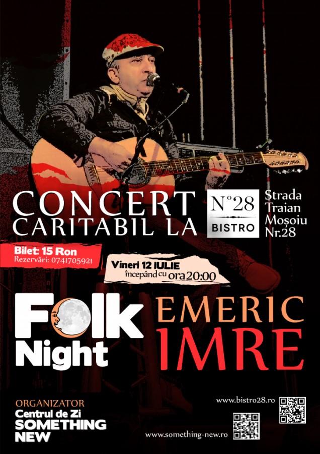 Afis concert caritabil E-Imre