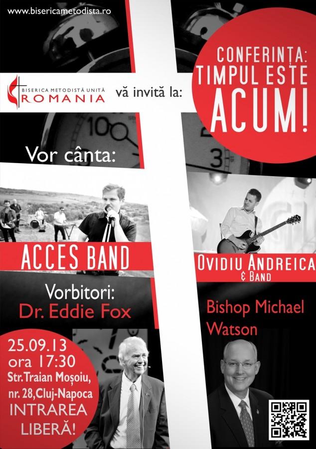 ConferintaTimpul este ACUM Cluj-Napoca