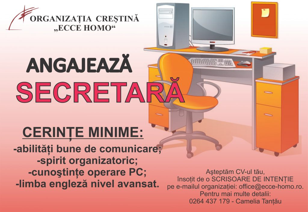 anunt-angajare-secretara